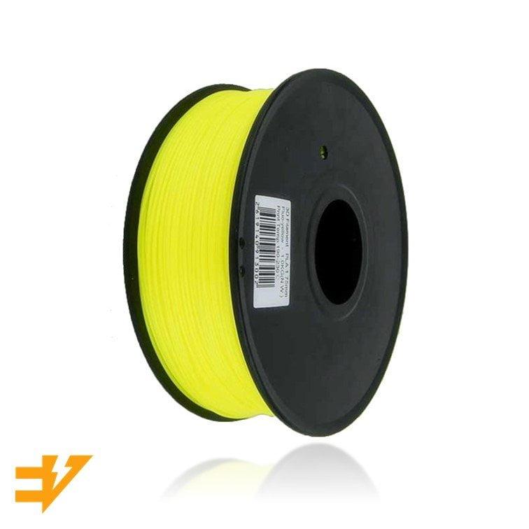 PLA 1kg Amarelo Fluorescente – EVOLT