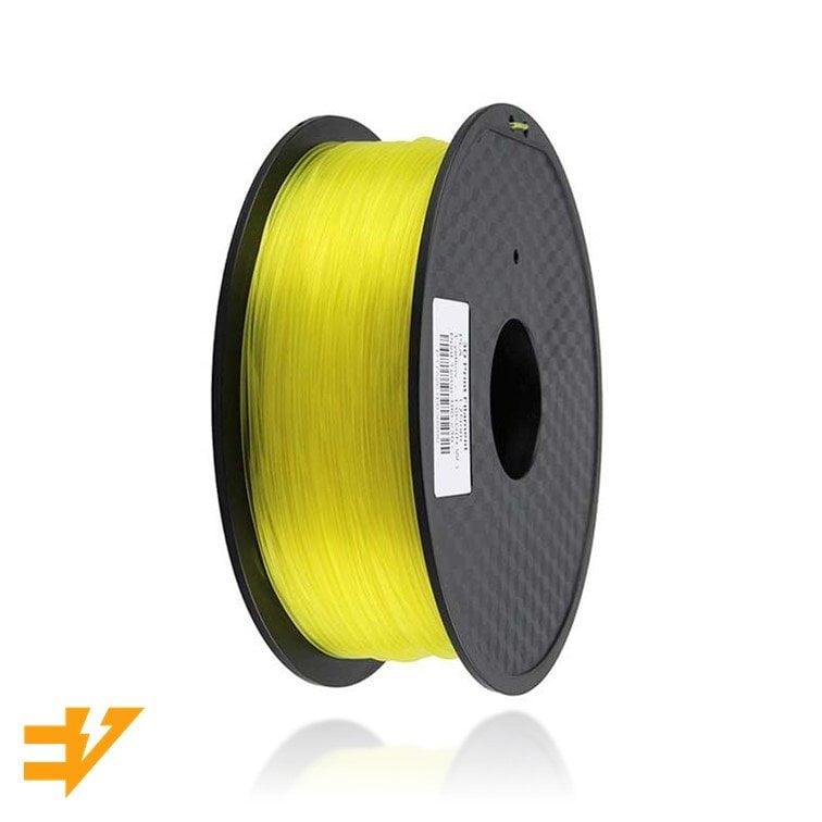 PLA 1kg Amarelo Transparente – EVOLT