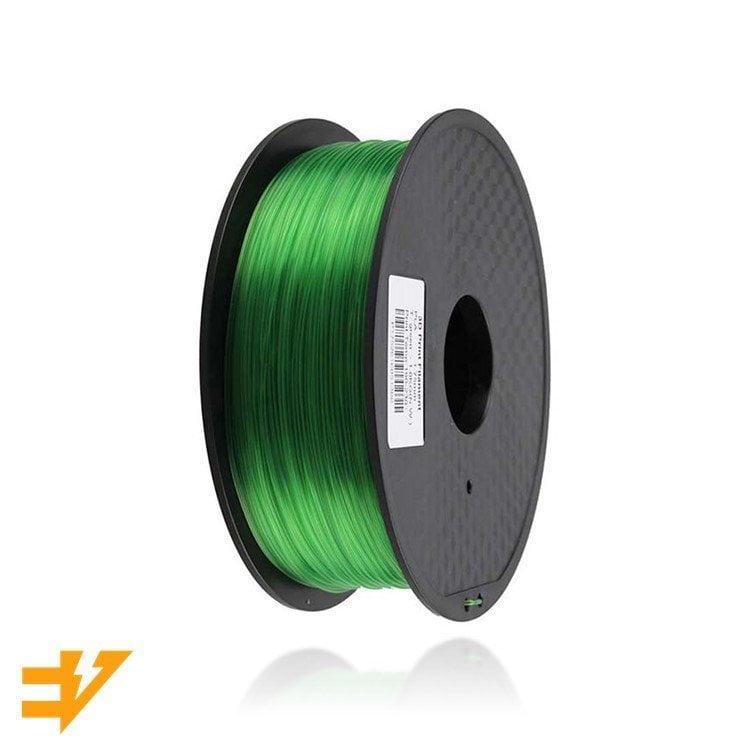 PLA 1kg Verde Transparente – EVOLT
