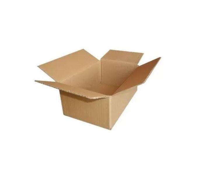 Caixa de cartão reciclado – Pack 120 unidades – 30x30x20 cm – EVOLT