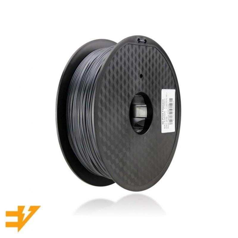 PLA Sedoso Cinza Escuro 1kg – EVOLT