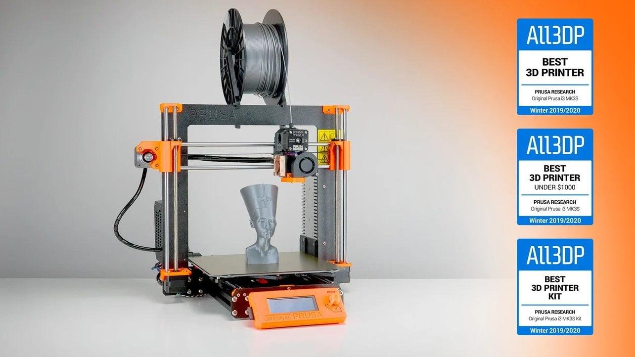 prusa i3 mk3 - a melhor impressora