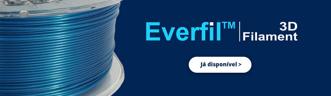 Filamento 3D marca Everfil